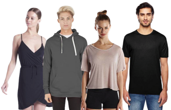 Shop ShirtSpace's collection of Modal fabric t-shirts, dresses, and tank tops