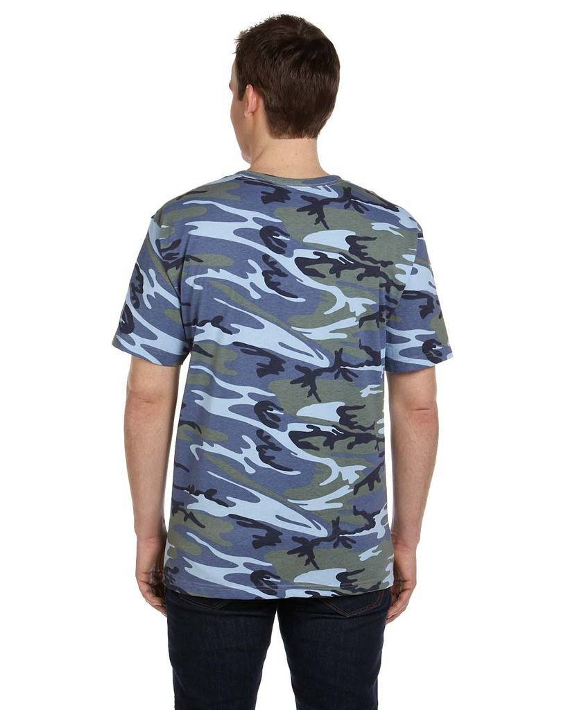 Code five ls3906 adult camouflage t shirt for Gildan camouflage t shirts