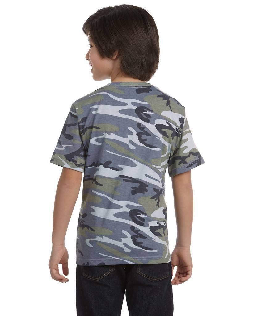 Code five 2206 youth camo t shirt for Gildan camouflage t shirts