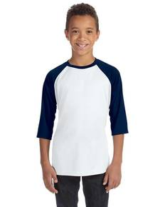 All Sport Y3229 Youth Baseball T-Shirt