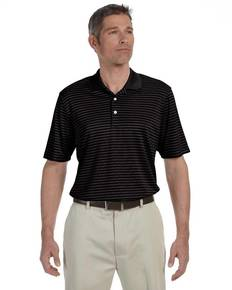 Ashworth 3046 Men's Performance Interlock Stripe Polo