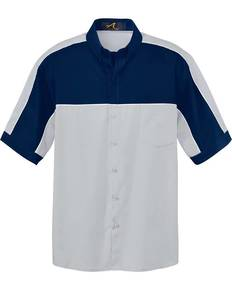 Ash City 87013 Men's Color-Block Short Sleeve Shirt