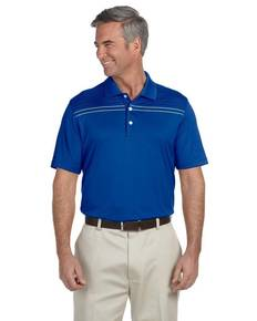 Ashworth 3047 Men's Performance Interlock Print Polo