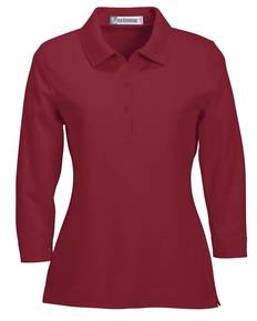 Extreme 75029 Ladies' 3/4 Sleeve Stretch Jersey Polo Shirt