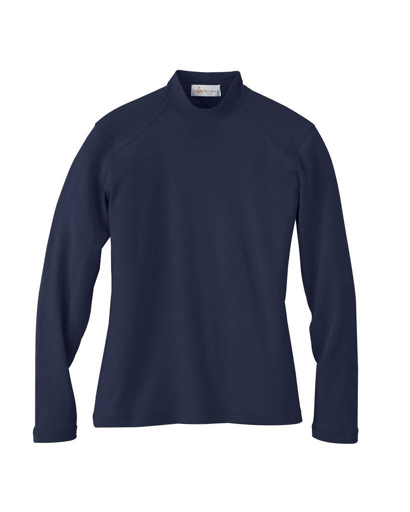 Il Migliore 75037 Ladies 39 Interlock Mock Neck Shirt