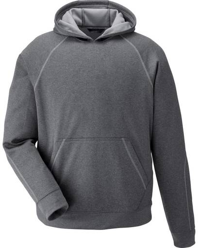 north end 68164 pivot youth performance fleece hoodie Front Fullsize