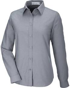 North End 77038 Windsor Ladies' Long Sleeve Oxford Shirt