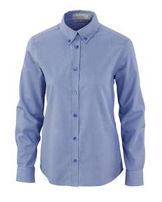 Ash City - North End 77040 EchelonLadies' Wrinkle Resistant Cotton Blend Houndstooth Taped Shirt