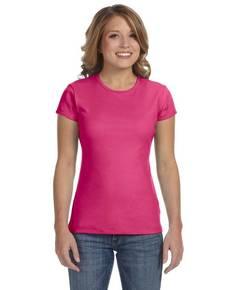 Bella + Canvas 1001 Ladies' Baby Rib Short-Sleeve T-Shirt