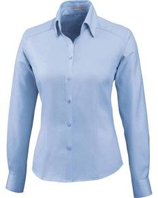 Ash City - North End 78646 Ladies' Wrinkle-Free Two-Ply 80's Cotton Taped Stripe Jacquard Shirt