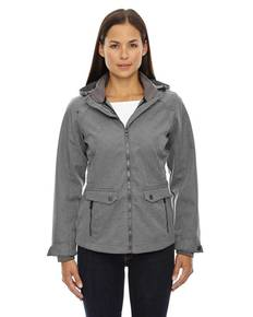 Ash City - North End 78672 Ladies' Uptown Three-Layer Light Bonded City Textured Soft Shell Jacket