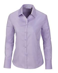 Ash City - North End 78673 Ladies' Boulevard Wrinkle-Free Two-Ply 80's Cotton Dobby Taped Shirt with Oxford Twill