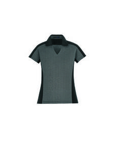 North End Sport Blue 78692 MERGE Ladies' Cotton Blend Melange Polo