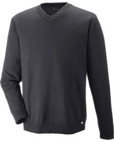 North End 81010 Merton Men's Soft Touch V-Neck Sweater
