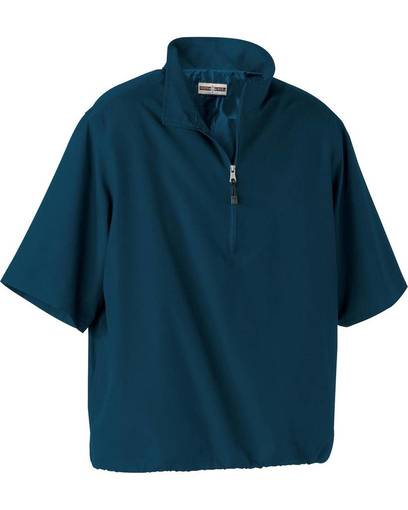 north end 88084 men's m•i•c•r•o plus short sleeve windshirt with teflon® front image