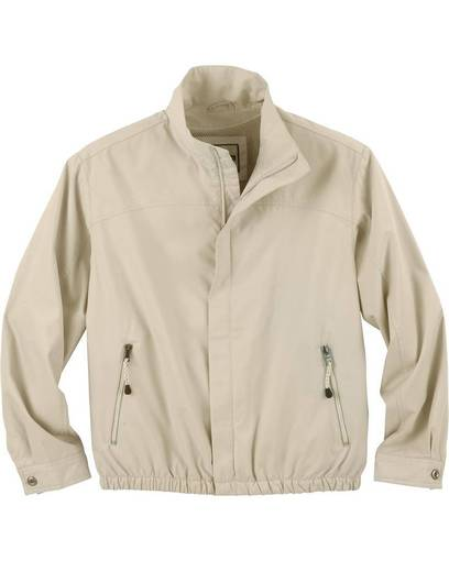 north end 88103 men's bomber micro twill jacket front image