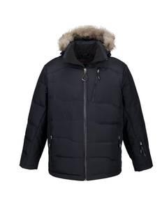 Ash City - North End 88179 Men's BorealDown Jacket with Faux Fur Trim