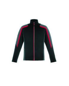 North End 88201 Men's Strike Colorblock Fleece Jacket