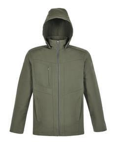 Ash City - North End 88212 Men's Forecast Three-Layer Light Bonded Travel Soft Shell Jacket
