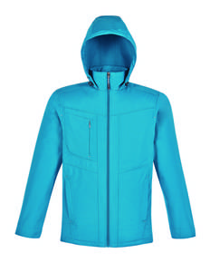 Ash City - North End 88212 Men's Forecast Three-Layer Light Bonded Travel Soft Shell Jacket