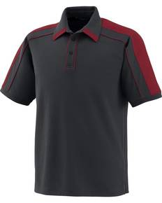 North End Sport Red 88648 Men's Performance Polyester Piqué Polo
