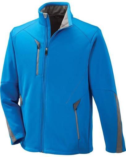 north end 88649 men's escape bonded fleece jacket Front Fullsize