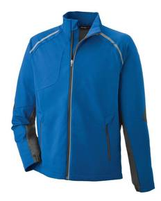North End 88654 Men's Dynamo Three-Layer Lightweight Bonded Performance Hybrid Jacket