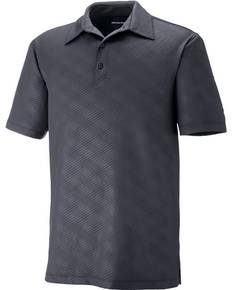Ash City - North End 88659 Men's Maze Performance Stretch Embossed Print Polo