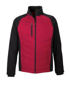 ash-city-north-end-sport-red-88662-epic-men-39-s-insulated-hybrid-bonded-fleece-jacket