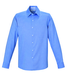ash-city-north-end-sport-blue-88689-refine-men-39-s-wrinkle-free-2-ply-80-39-s-cotton-royal-oxford-dobby-taped-shirts