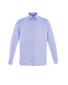ash-city-north-end-sport-blue-88690-precise-men-39-s-wrinkle-free-2-ply-80-39-s-cotton-dobby-taped-shirt
