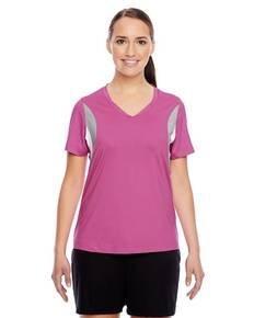 Team 365 TT10W Ladies' Short-Sleeve Athletic V-Neck Tournament Jersey