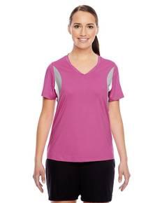 Team 365 TT10W Ladies' Short-Sleeve Athletic V-Neck Tournament Jersey