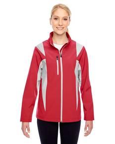 Team 365 TT82W Ladies' Icon Colorblock Soft Shell Jacket