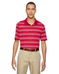 adidas Golf A123 Men's puremotion® Textured Stripe Polo