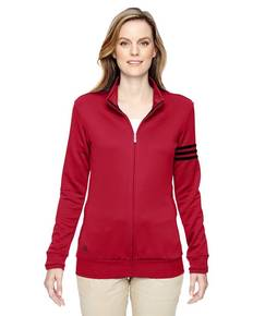 adidas Golf A191 Ladies' climalite 3-Stripes Full-Zip