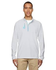 adidas Golf A195 Men's puremotion™ Mixed Media Quarter-Zip