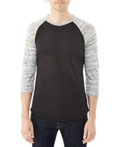 Alternative AA2089 Unisex Baseball Eco-Jersey™ T-Shirt