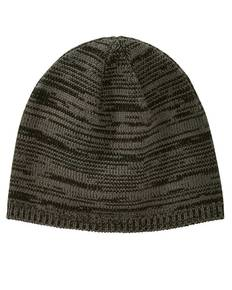 Big Accessories BA525 Two-Tone Marled Beanie