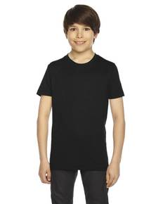 American Apparel BB201 Youth Poly-Cotton Short-Sleeve Crewneck