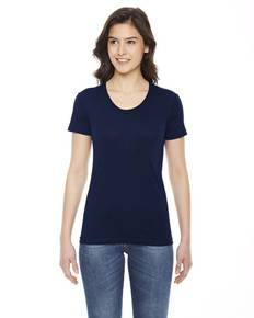American Apparel BB301 Ladies' Poly-Cotton Short-Sleeve Crewneck