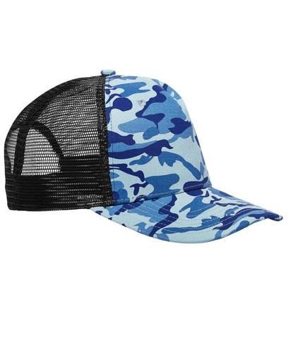 big accessories bx025 surfer trucker cap front image