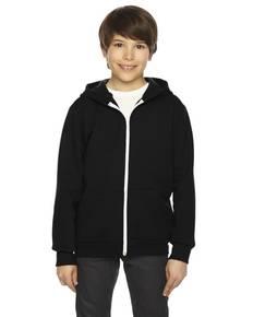 American Apparel F297 Youth Flex Fleece Zip Hoodie