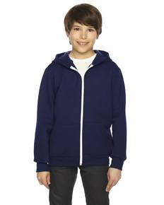 american-apparel-f297-youth-flex-fleece-zip-hoodie