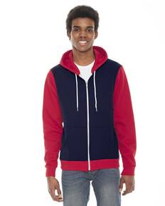 american-apparel-f497-unisex-flex-fleece-zip-hoodie