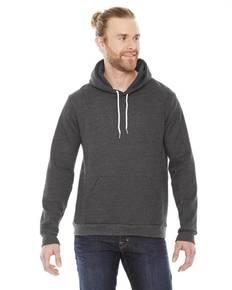 American Apparel F498 Unisex Flex Fleece Drop Shoulder Pullover Hoodie