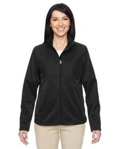 Harriton M745W Ladies' Task Performance Fleece Full-Zip Jacket