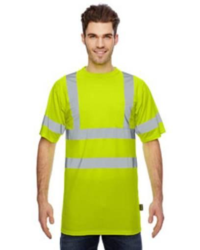 occunomix lssetp men's classic birdseye wicking t-shirt Front Fullsize