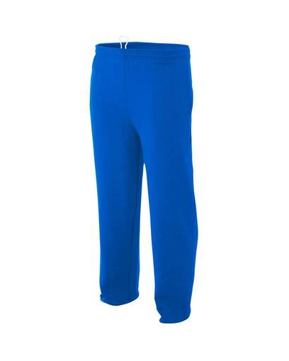 a4 nb6193 youth fleece tech pants front image