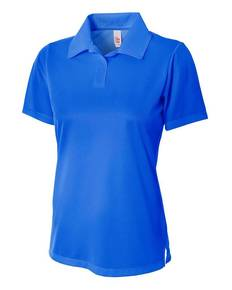 A4 Drop Ship NW3265 Ladies' Textured Polo Shirt w/ Johnny Collar